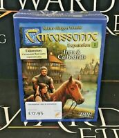 Carcassonne Expansion 1 Inns & Cathedrals - Z-Man (Genuine Sealed Board Game)