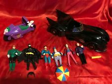 BATMAN BATMOBILE SUPERMAN  KENNER TOY BIZ DC 1989 ACTION FIGURE COLLECTION