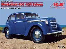 ICM 1/35 Moskvitch 401-420 Saloon Soviet Passenger Car #35479 (Sealed)