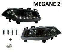 2 FEUX PHARE AVANT DEVIL EYES RENAULT MEGANE 2 A LED PHASE 1 02-05 + DCI