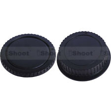 DSLR camera body cover + rear lens cap for Canon EF-S EF EOS 500D 400D 300D 550D