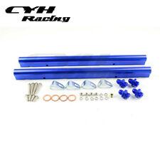 Aluminum Fuel Rail Kits For GM LS1 LS6 Engine Intake Mainfold -Blue