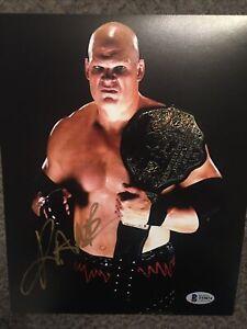 WWE Kane signed   8x10 photo Beckett Authenticated