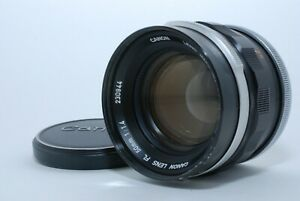 """""""EXCELLENT++"""" CANON FL 50mm f/1.4 MF Lens FD_mount FROM JAPAN"""