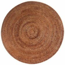 Giant Round Woven Wicker Rattan Table Mat Centrepiece