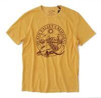Lucky Brand - Men's XXL - NWT - Vintage Yellow Death Valley California Tee