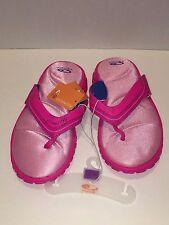 NEW Girls Champion Sports Sandal Size 4 by Champion Pink GEO Foam 3 Cushion Fit