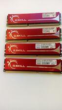 Barrettes Mémoires G.SKILL DDR3-1600MHz Kit de 8Go