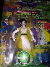 1994 Teenage Mutant Ninja Turtles TMNT Bride of Frankenstein April Playmates MIP