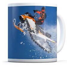Snow Mobile Jump - Drinks Mug Cup Kitchen Birthday Office Fun Gift #15988