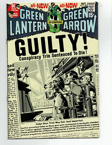 Green Lantern 80 Neal Adams genius art, some pressable defects