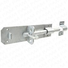 200mm ULTRA HEAVY DUTY GALVANISED SLIDE PADLOCK BOLT Outdoor Gate Shed Catch