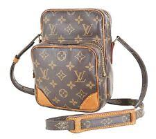 Authentic LOUIS VUITTON Amazone Monogram Cross body Shoulder Bag Purse #35751