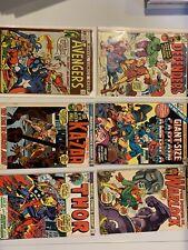Marvel Comics bronze age lot💥6 books sharp readers Gd-Vg