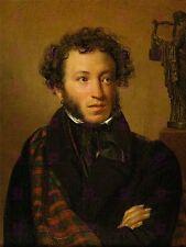 Dipinto ritratto KIPRENSKY scrittore Alexander Pushkin GRANDE STAMPA POSTER lf1616