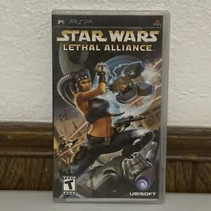 Star Wars: Lethal Alliance (Playstation PSP, 2006) Complete w/ Manual Tested CIB