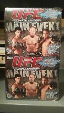 2010 Topps UFC Main Event Factory Sealed 18 Pack Value Rack Pack Box -VERY RARE