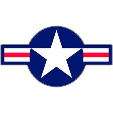 Airforce Usaf Roundel Pacific War Fighter Bomber B17 P51 P47 P38 Insignia Decal
