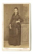 19th Century Fashion - 19th Century Carte-de-visite Photograph - Forbach, France