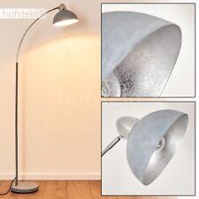 Lampadaire Design Lampe de bureau Retro Éclairage de salon Lampe sur pied grise