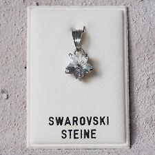 Neu KETTENANHÄNGER Blüte SWAROVSKI STEINE kristallklar/crystal/klar ANHÄNGER