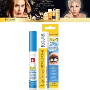 Eveline Eyelash Serum 8in1 Total Action Conditioner Mascara Base Primer Lashes