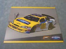 AUTHENTIC NASCAR DRIVER  **LANDON CASSILL SIGNED 8X10  PHOTO** W/ COA