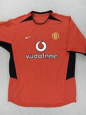 Manchester United Nike Stitched Replica Soccer Jersey (Adult Large) Red