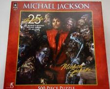 Bepuzzled/Bravado--MICHAEL JACKSON 500 pc. puzzle-THRILLER 25TH ANNIVERSARY-RARE