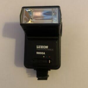 Vintage Luxon Phototechnics 9800A Camera Flash