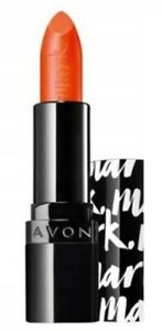 Avon Mark Epic Lip Lipstick FEISTY New Rare  Orange