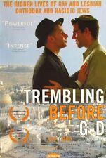 TREMBLING BEFORE G-D - 2001 - Original 27x40 D/S movie poster - Hacidic Gays
