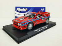 Slot car Scalextric Flyslot Ref. 046103 Lancia 037 Tes Car 1985