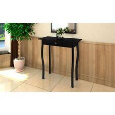Vidaxl Wooden Table End Desk - Black - 240044
