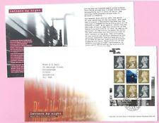 Royal Mail 2004 Fdc-Letras por la noche (panel) - Shs tallents House