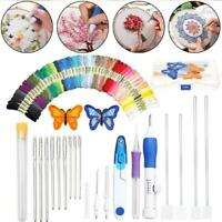177PCS/SET Rainbow Color Embroidery Threading Tool Best