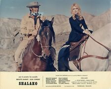 *Brigitte Bardot Sean Connery Shalako Edward Dmytryk Photo cartoline vintage