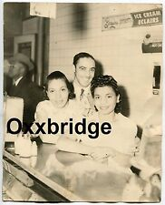 African American Diner Black Restaurant 1940 HARLEM NYC Photo Breyers Ice Cream
