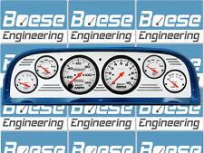 60 61 62 63 Chevy Truck Billet Aluminum Gauge Panel Dash Insert Instrument