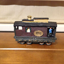 Used Jc Penney Home Towne Express Caboose 1998 Edition Figurine