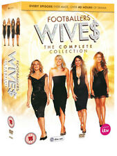 Footballers Wives Series 1 to 5 Complete Collection (region 2 DVD )