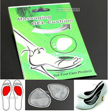 Soft Gel Silicone Cushion Pad Inserts Shoe Insoles Ball of Foot Party Feet