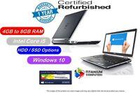 """DELL LATITUDE E6430 14.1"""" CORE i5 3RD GEN 2.5GHZ Upto 8GB Ram 1TB HDD SSD Window"""