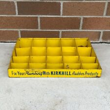 Vintage Kirkhill Rubber Products Advertising Store Display Plumbing Hardware