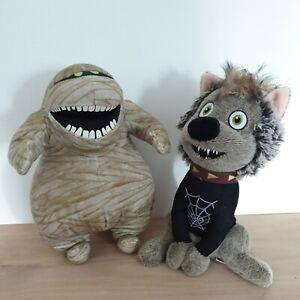 Hotel Transylvania 2 Wally the Wolf & Murray Mummy Official Plush Soft Toy