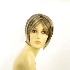 women short wig light blonde wick light copper and chocolate BLANDINE 15613h4