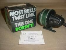Vintage Johnson Graphite Sabra 545 Spincast Fishing Reel W/ Box