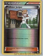 2011 pokemon Black & White reverse holo Professor Juniper 101/114