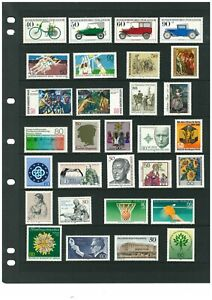 Germany Berlin 1976-1990. 103 stamps all different, Mint hinged.