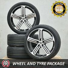 18 Inch R Spec Wheels and NEW Tyres 225/40R18 for VW Golf GTI R Mk5 Mk6 Mk7
